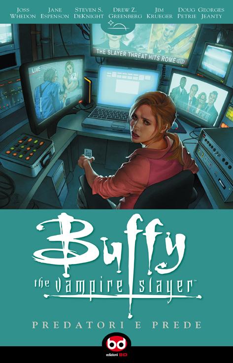 Copertina Buffy vol. 5.