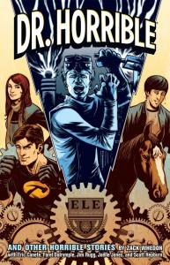 La copertina del TPB di Dr. Horrible.