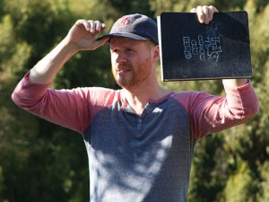 Joss Whedon sul set di Much Ado About Nothing