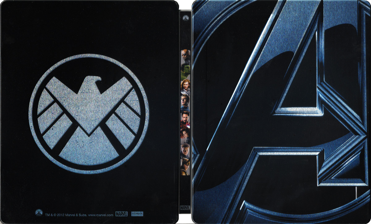DVD e Blu-ray di The Avengers