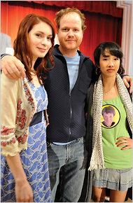 Joss, Felicia e Maurissa.