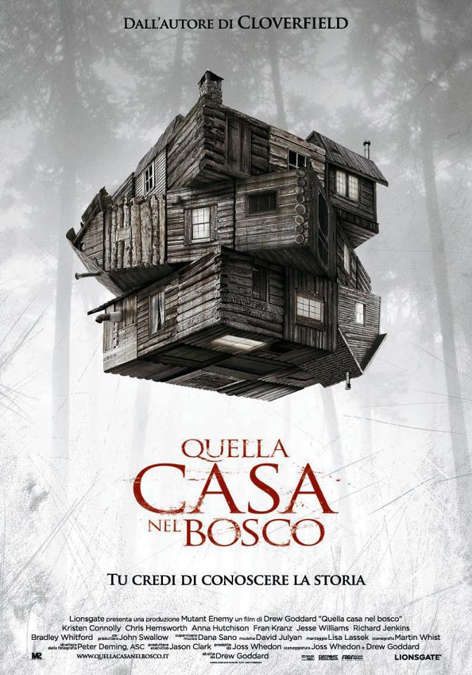 "Spot TV italiani di ""The Cabin in the Woods"""