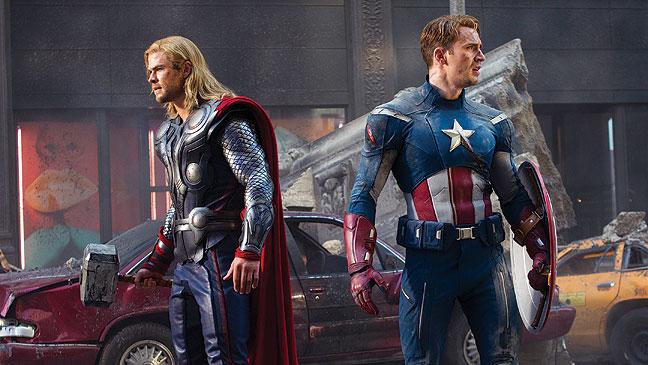 The Avengers è al terzo posto